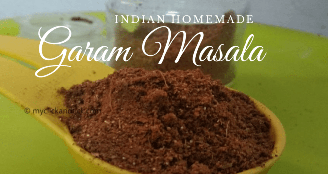 Indian Garam Masala Homemade