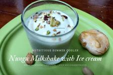NUNGU MILKSHAKE WITH ICE CREAM
