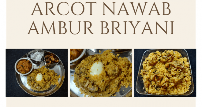 ARCOT NAVAB'S CHICKEN BIRIYANI