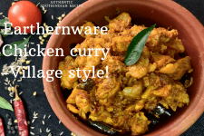 EARTHENWARE CHICKEN CURRY-VILLAGE STYLE