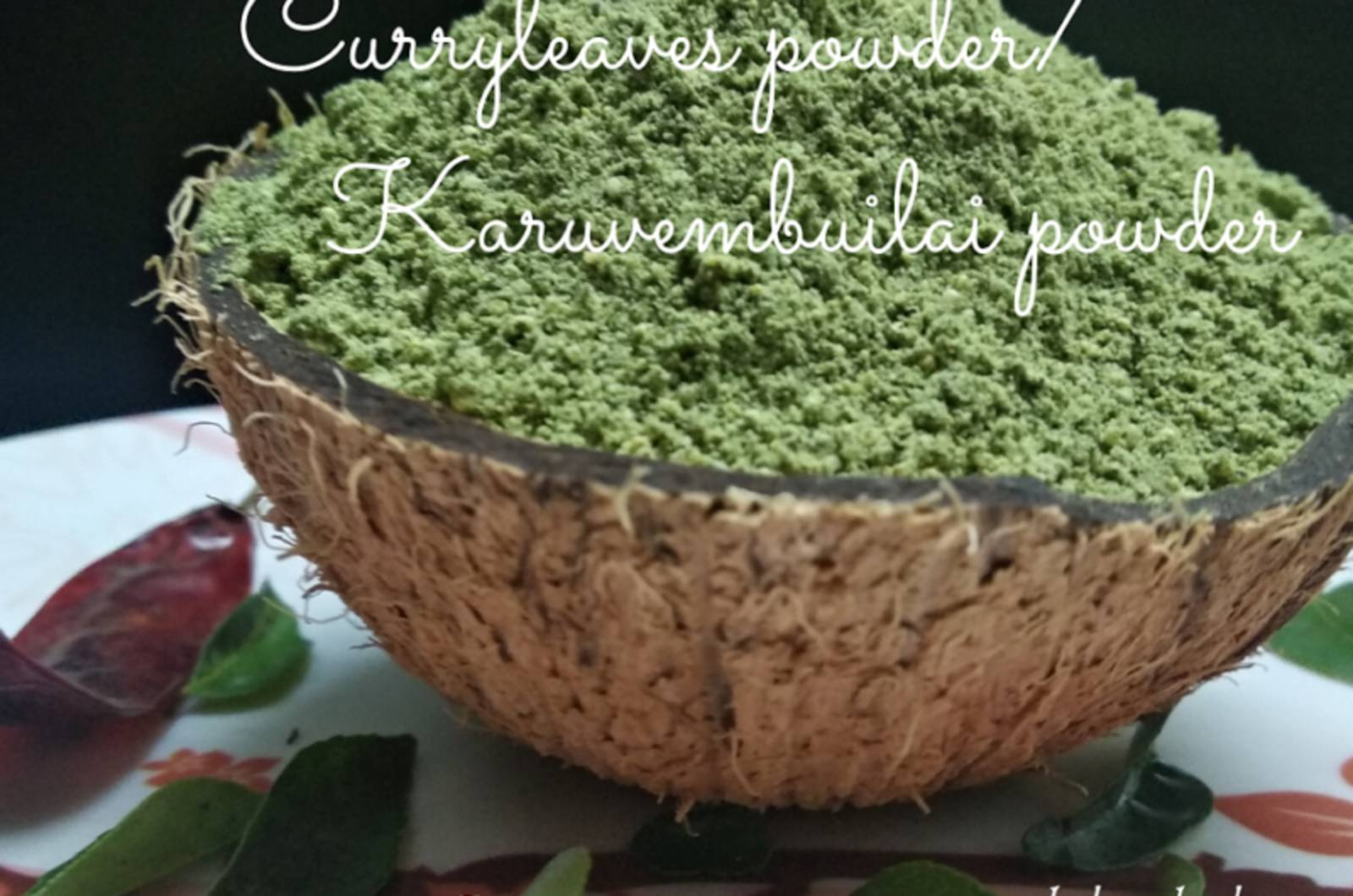 INSTANT CURRY LEAVES POWDER