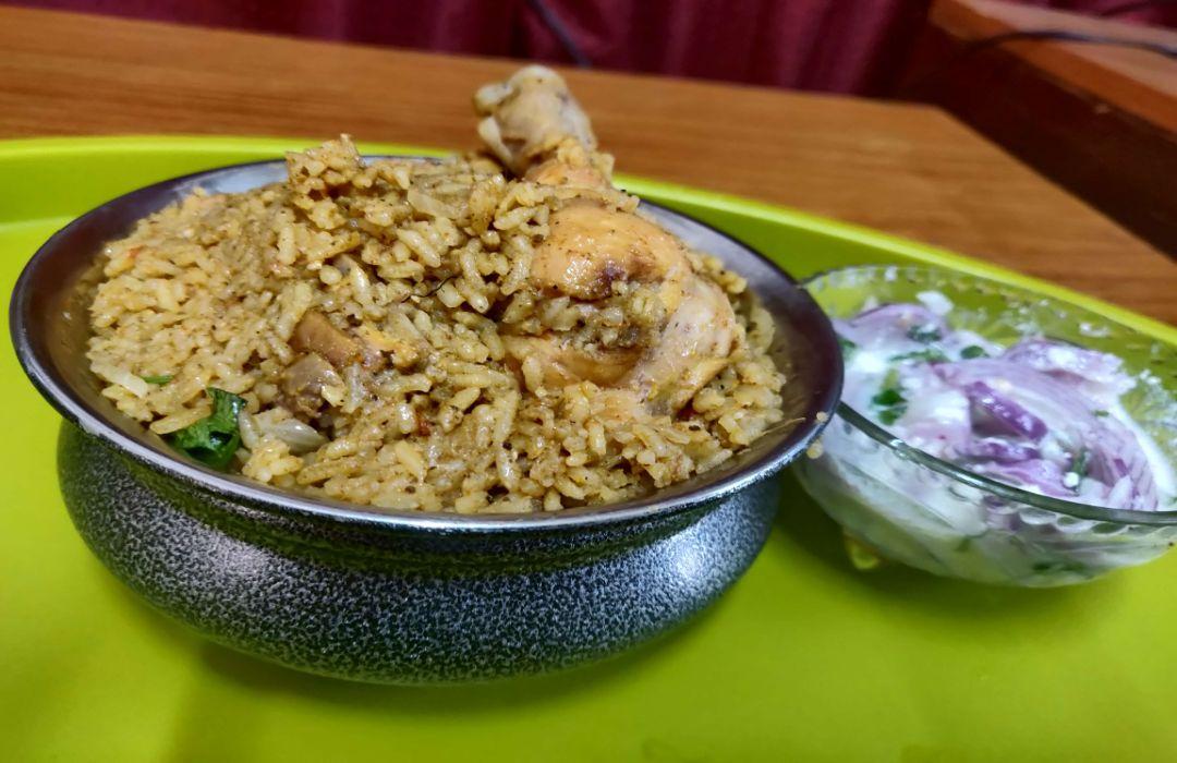 Dindigul Thalapakatti Chicken Biriyani