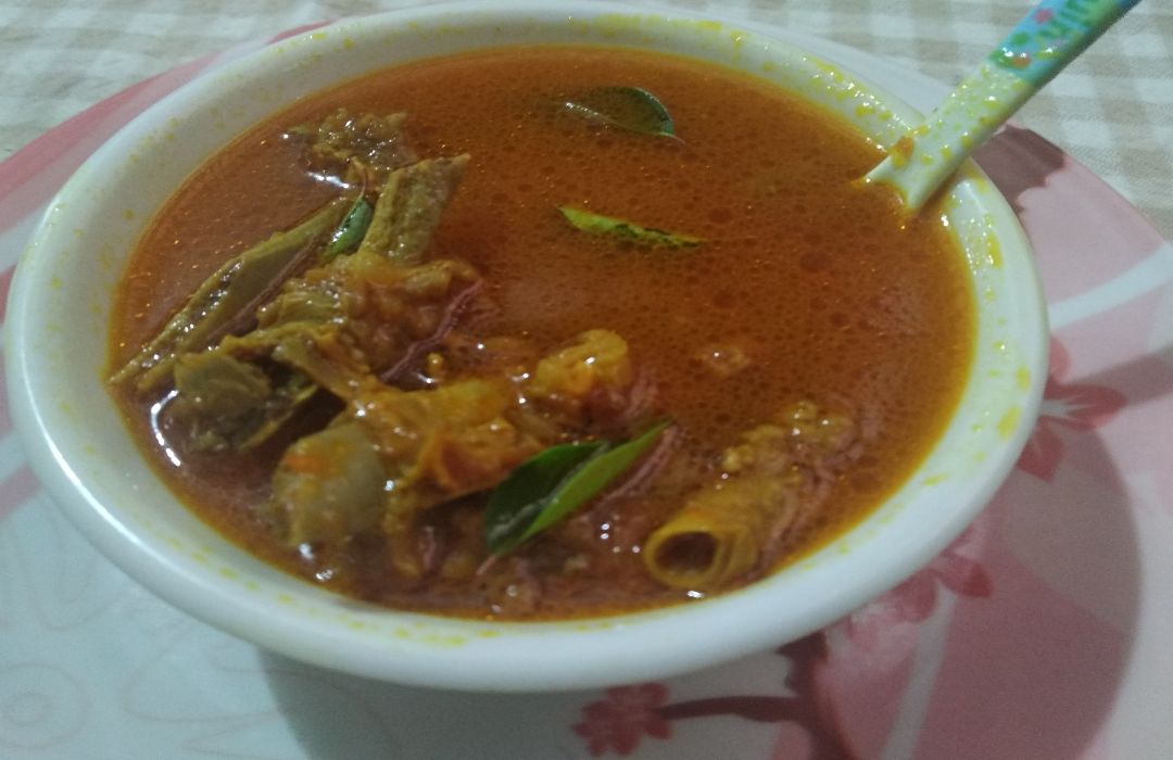Hot and Spicy Mutton Soup